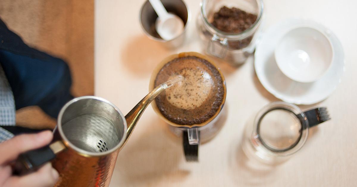 コーヒー抽出時間