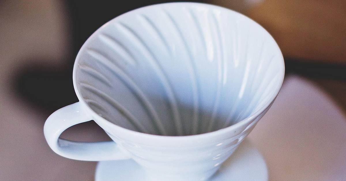 陶器ドリッパー