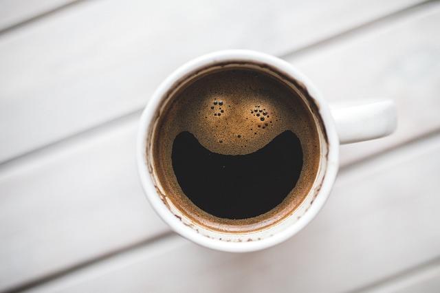冷めても美味しいコーヒー